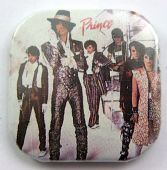 Prince and the Revolution - 'Group' Square Button Badge